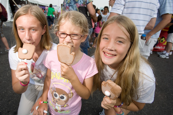 The annual Ice Cream Festival is every bit as enjoyable as it sounds.